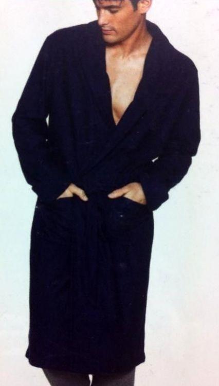 ragno giacca da camera in pile extra soft - paola fiorini - Giacca Da Camera Uomo Pile