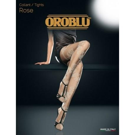 Oroblu Rose Collant elegante fiorato