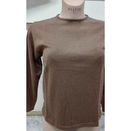 Ragno Donna Maglione girocollo 100% lana merino