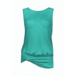 Oroblu Grace Maglia maglietta scavi senza manica scollo tondo viscosa