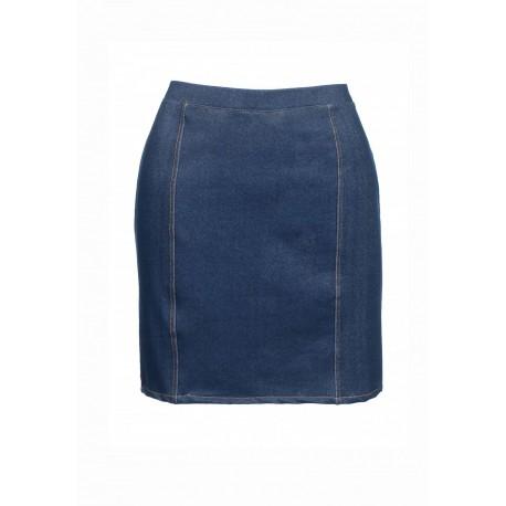 Oroblu Minigonna serie Jeans cotone elasticizzato
