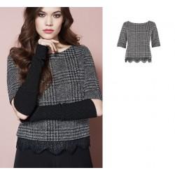 Oroblu Transparence Viscose Sweater 3/4 sleeve