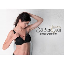 Lovable Sensual Touch Exclusive Reggiseno preformato vela con ferretto pizzo invisibile