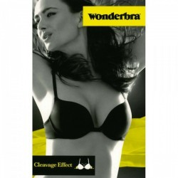 Wonderbra Reggiseno push up con imbottitura in gel