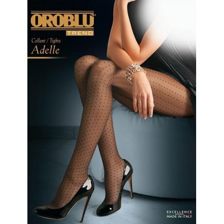 Oroblu Collant velato Adelle pois 20 denari