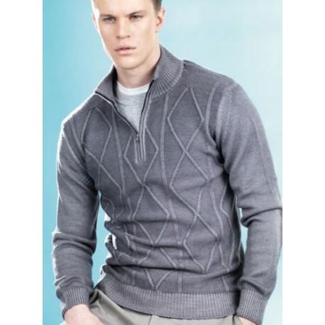 a12244c996 Ragno uomo Maglione Pullover 100% lana rasato - Paola Fiorini