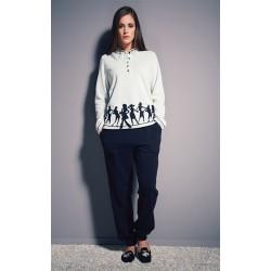 Boglietti Women's winter pajamas cotton fleece