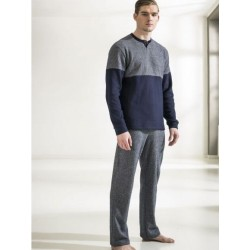 Ragno Man pajamas winter long sleeve pants seraph 100% cotton