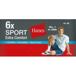 Hanes Men's 12 Pack Cushion Crew Socks