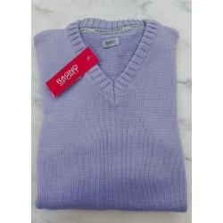 Ragno Man Sweater long sleeve V-neck Wool