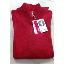Ragno uomo Maglione Pullover con zip  Lana