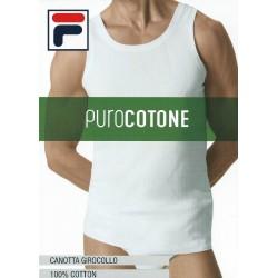Fila Man 4 Pack wide shoulder T-shirt stretch cotton