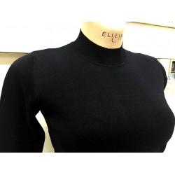 Ragno Donna Maglione lupetto 100% lana merino