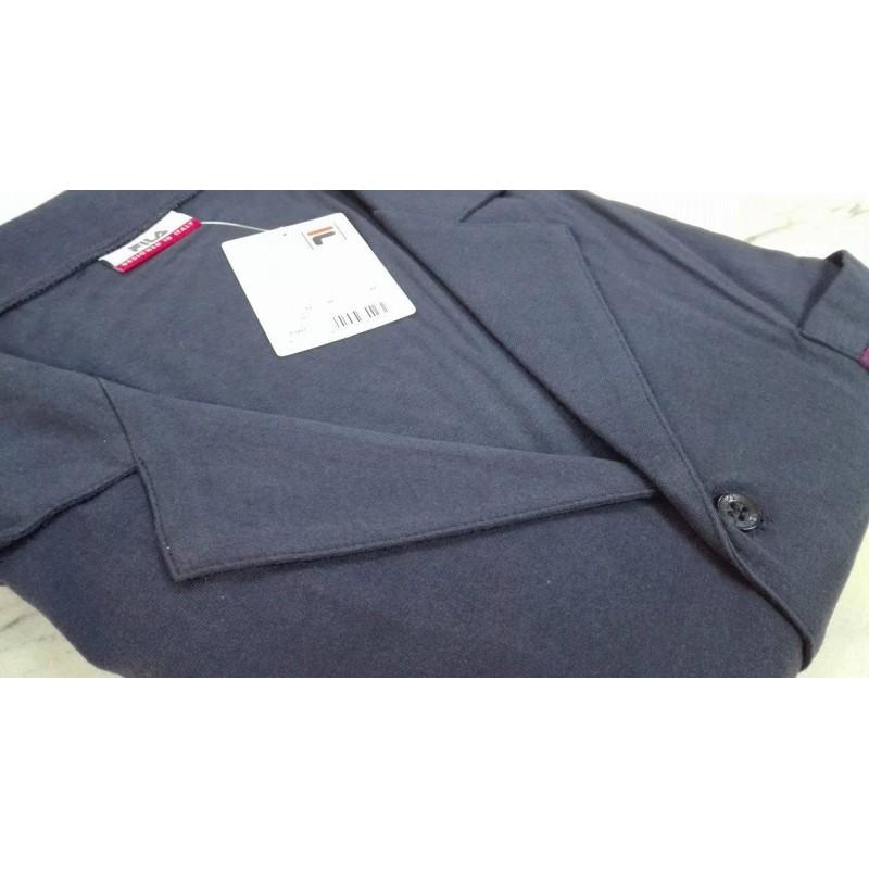 ultimo design nuova versione 100% originale Fila Pigiama lungo uomo 100% cotone jersey aperto bottoni classico blu -  Paola Fiorini