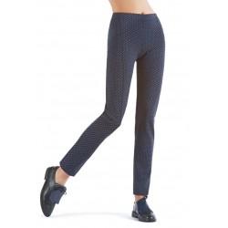 Oroblu First Pantalone tessuto stampa bicolore