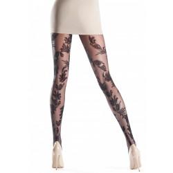 Oroblu Delight Collant velato pizzo floreale elegante Sexy Glam 20 Denari