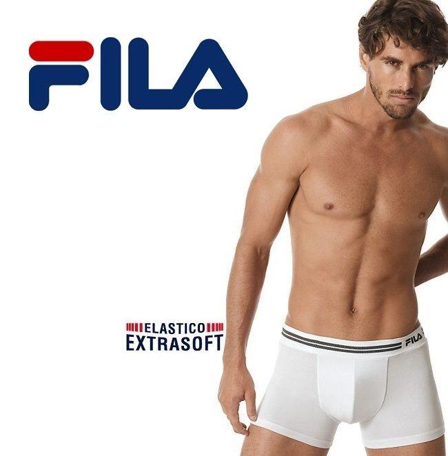 4 Fila Sport Men boxer Underwear extrasoft Stretch Cotton Paola Fiorini