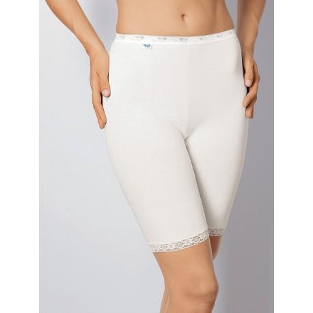 Sloggi Long Confezione 6 Slip donna Cotone mutande elastiche parigamba