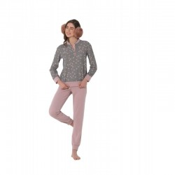Boglietti Women's winter pajamas cotton fleece