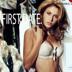Lovable First Date Reggiseno a fascia balconcino in pizzo