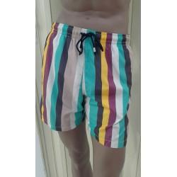Boglietti Perry Uomo Boxer Mare costume da bagno con tasche e retina
