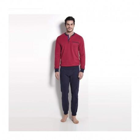 Ragno Man pajamas winter long sleeve pants seraph cotton blend