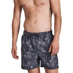 Boglietti Peter Uomo Boxer Mare costume da bagno con tasche e retina