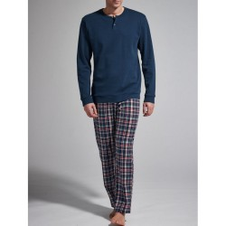Ragno Man pajamas winter long sleeve pants seraph cotton