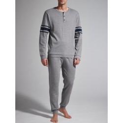 Ragno Man pajamas winter long sleeve pants seraph cotton viscose