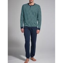 Ragno Man seraph long sleeve pants cotton viscose pajamas