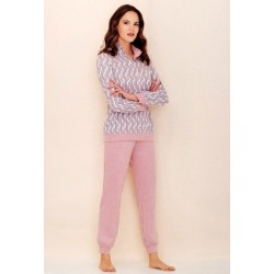 Linclalor Woman Long seraph cotton pajamas