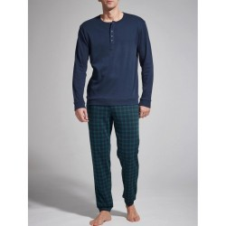 Ragno Man seraph long sleeve pants cotton viscose pajamas