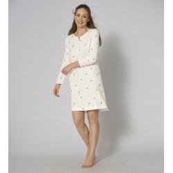Triumph Nightdresses women Night dress buttons
