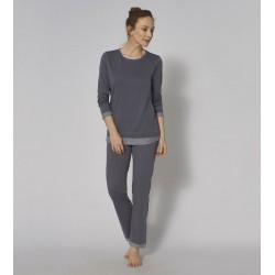 Triumph Sets 100% Cotton winter women pajamas