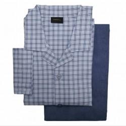 Perofil Pajamas for men 100% pure cotton light flannel