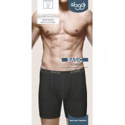 Sloggi Long Confezione 5 Slip lunghi uomo Cotone elasticizzato