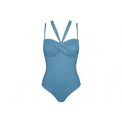 Triumph Venus Elegance padded cups bandeau swimsuit
