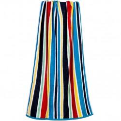 Divina ultra-absorbent cotton beach striped towel