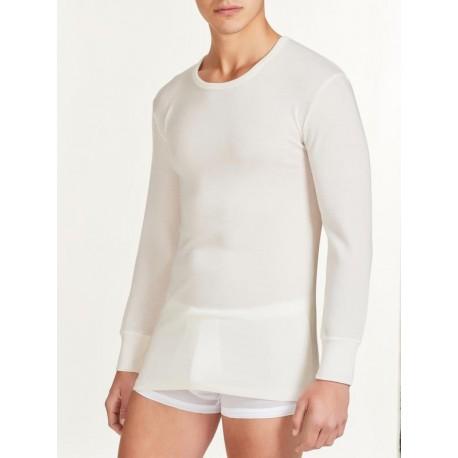maglia intima manica lunga 100% lana merino