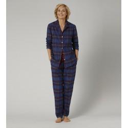 Triumph Woman button-down boyfriend fit cotton pajamas