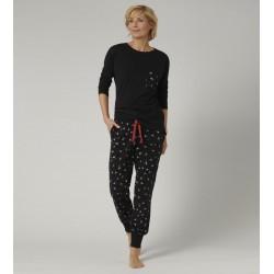 Triumph 100% Cotton long sleeves women pajamas